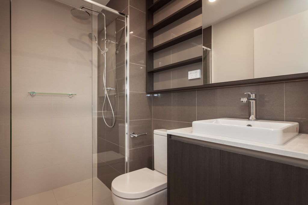 Nelson St, Ringwood Apartments Bathroom - C&K Architecture