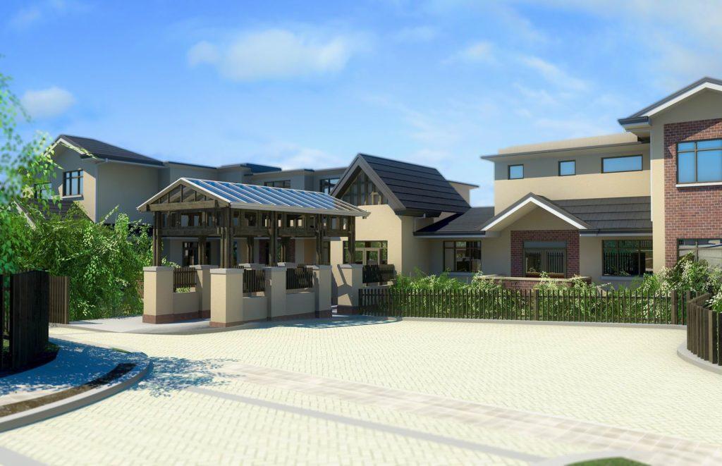 3. Yarrbat Place, Balwyn Retirement Village (Aged Care & Health) Perspective 2 - C&K Architecture