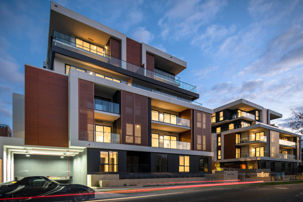 Nelson St, Ringwood Apartments Hero - C&K Architecture