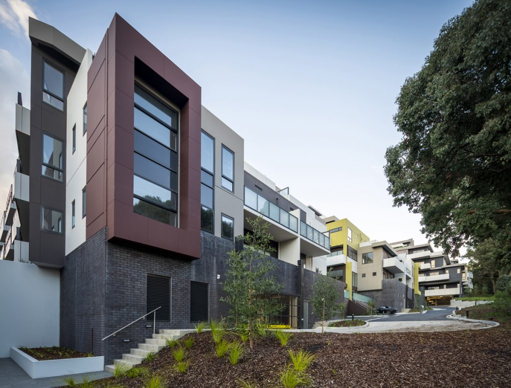 C&K Architecture - The Seasons Apartments - Reynolds Rd, Doncaster East