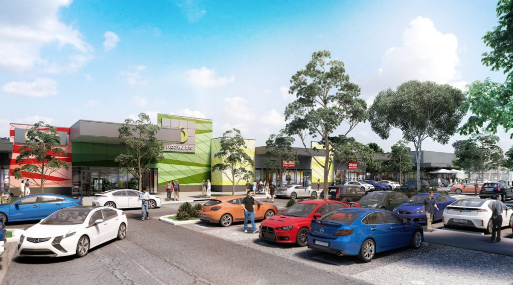 Opalia Shopping Centre Plaza C&K Architecture Commercial Retail Master Plan