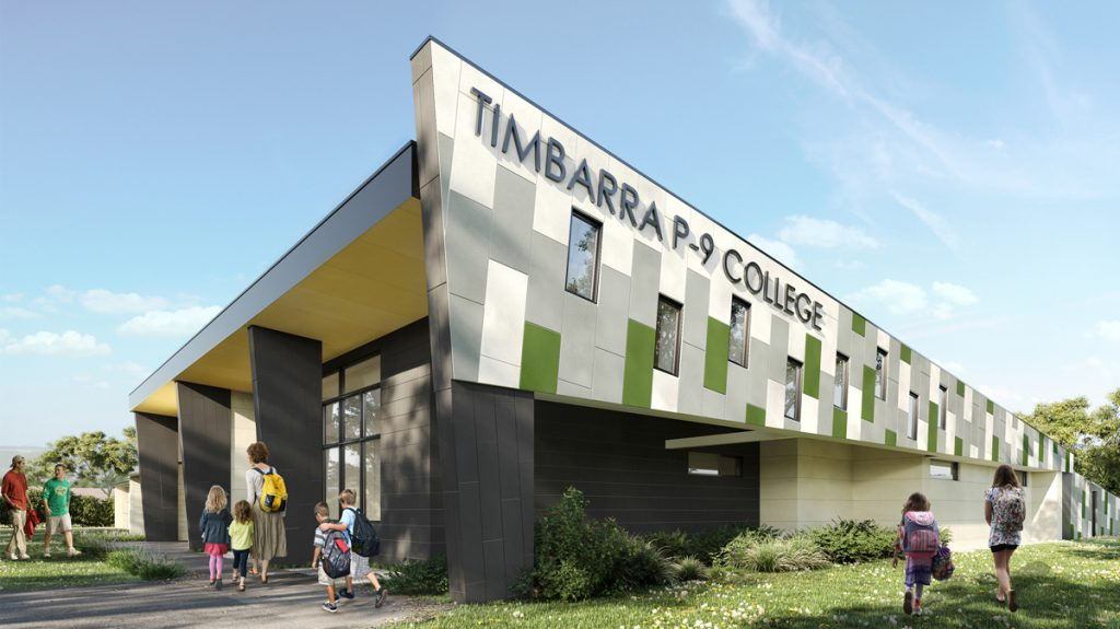 C&K Architecture Timbarra P-9 College Berwick Schools Education Interior Design