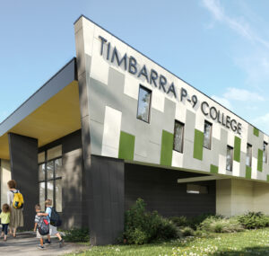 STEAM building for Timbarra P-9 College